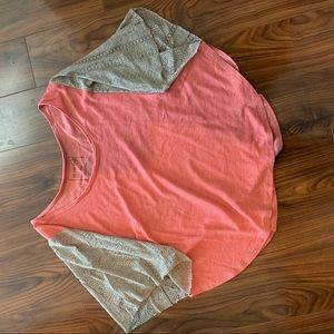 Free people cape style top